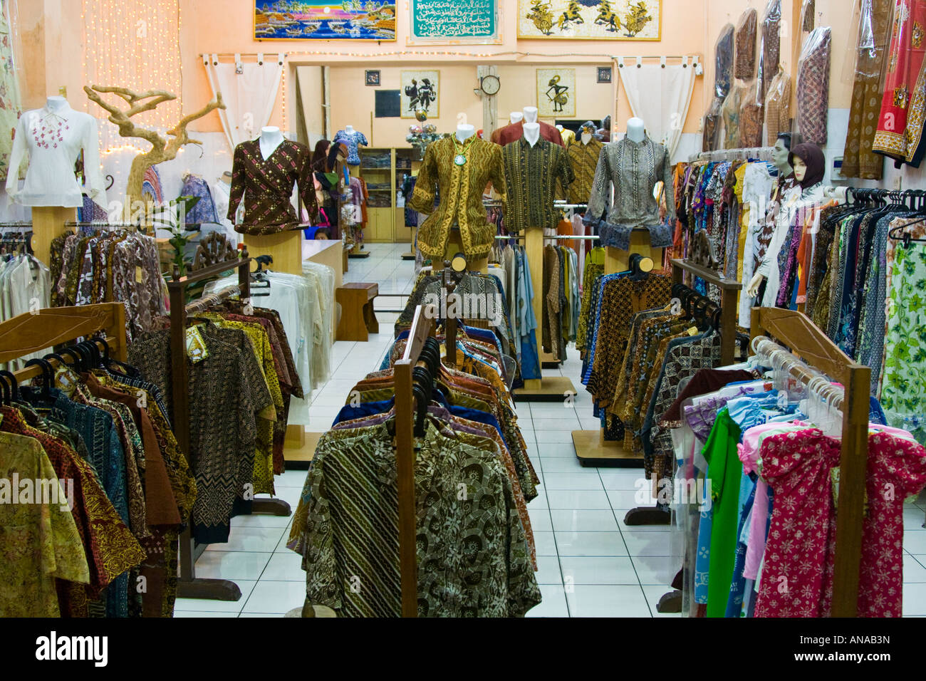 Clothing fabric store