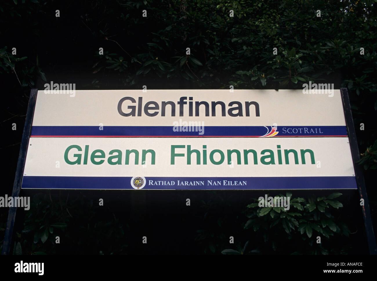 Sign In English Language Gaelic Stock Photos Sign In English