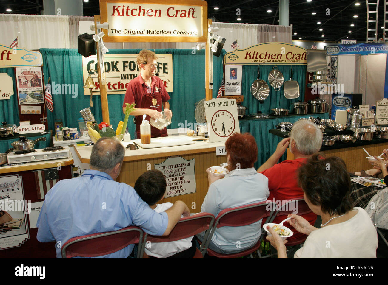 Miami Beach Florida Convention Center Home Design And Remodeling Show Food  Cooking Demonstration