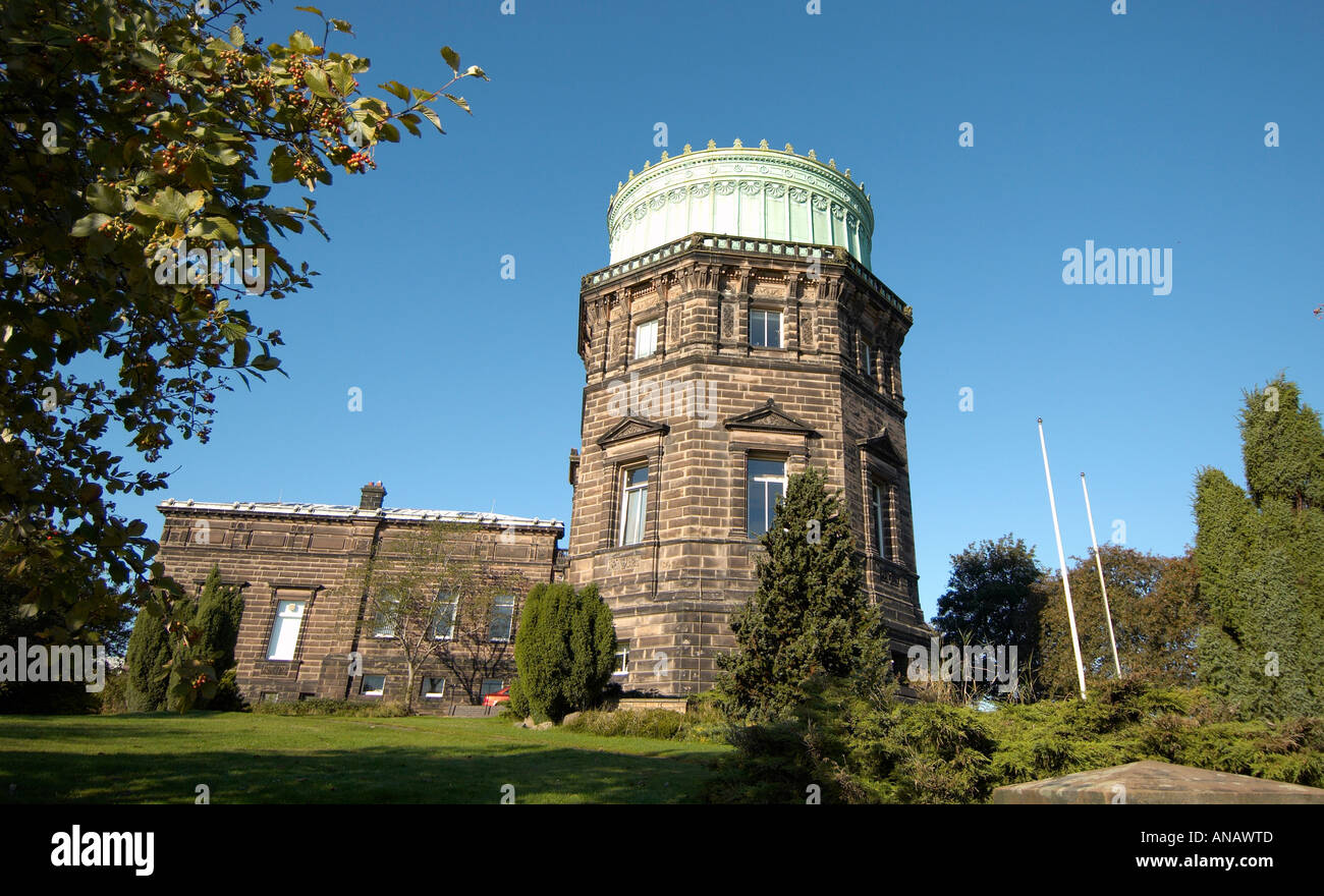 The Royal Observatory Edinburgh Scotland one of the UK's major centres of astronomical research - Stock Image