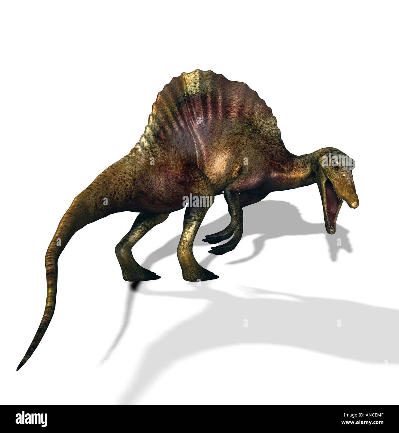 dinosaur Spinosaurus - Stock Image