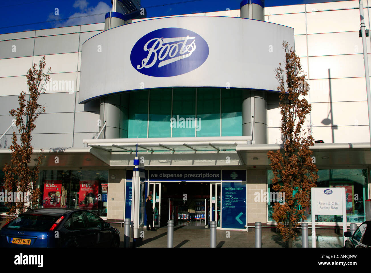 boots department store gallions reach east london england uk