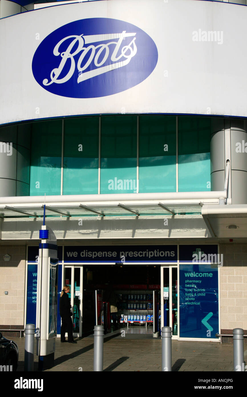 boots department store gallions reach east london england uk gb Stock Photo