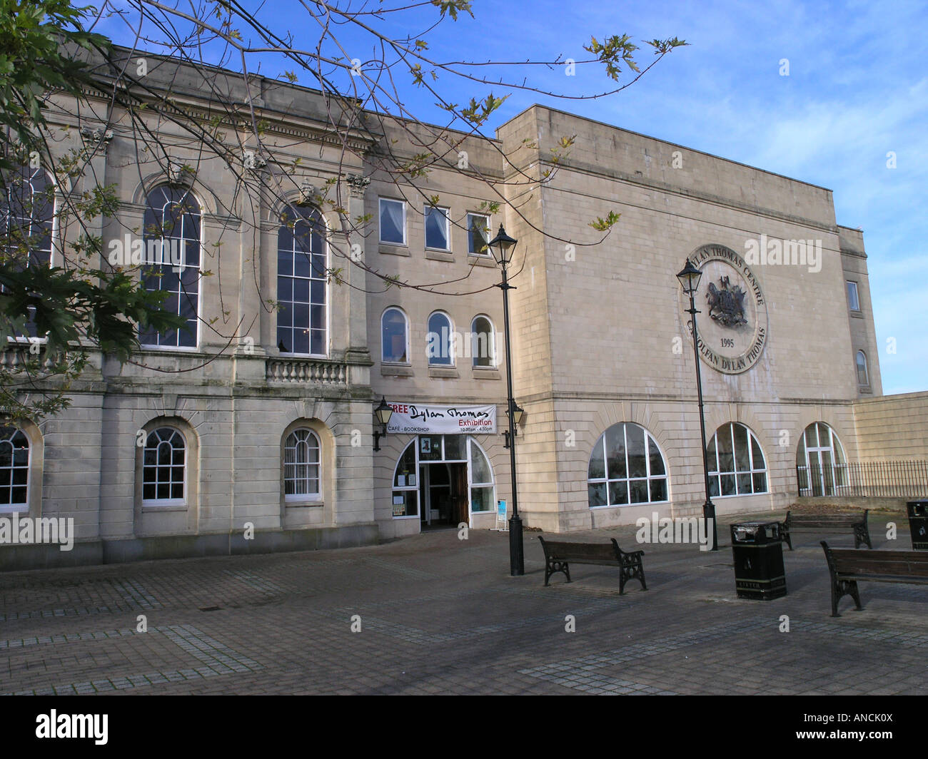 The Dylan Thomas Centre is an arts centre located in Swansea, Wales. Stock Photo