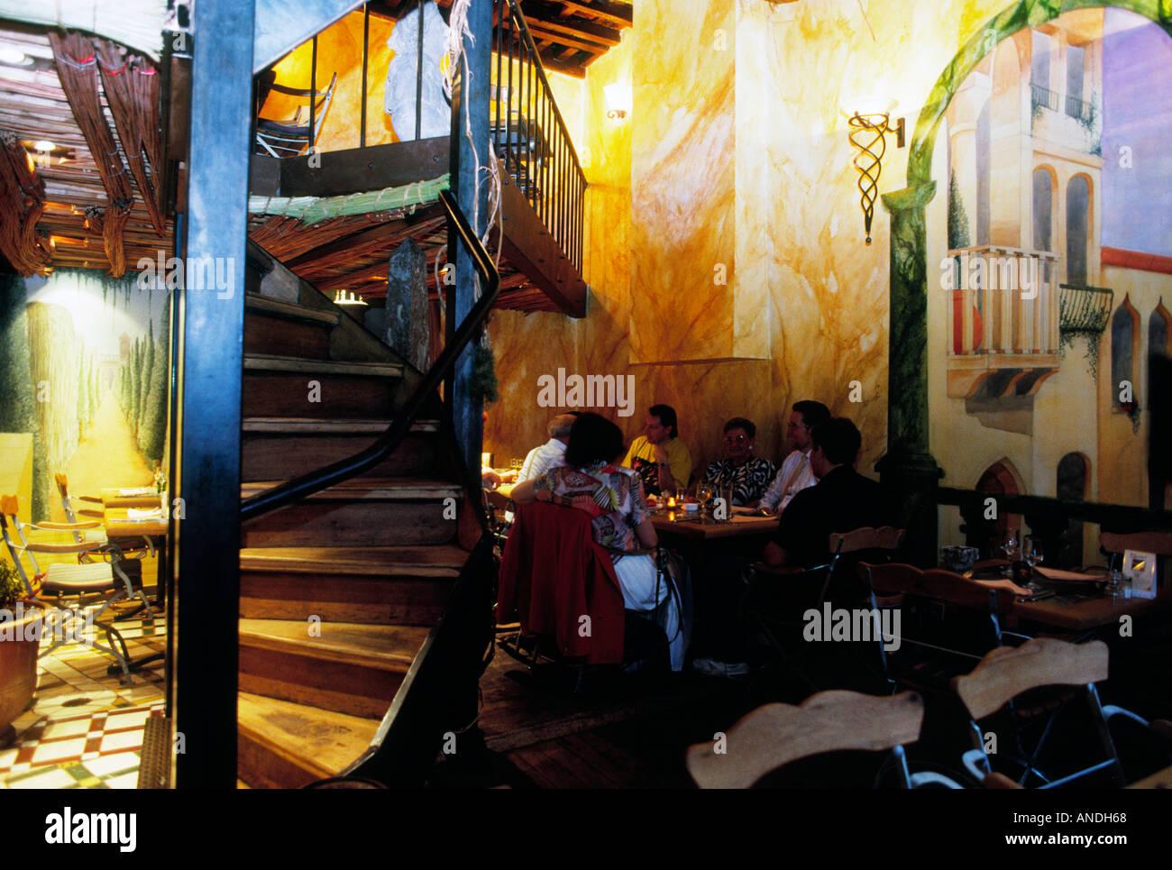 antwerp antwerpen anvers flander flanders flemish belgium europe benelux city town restaurant artistic atmosphere Stock Photo
