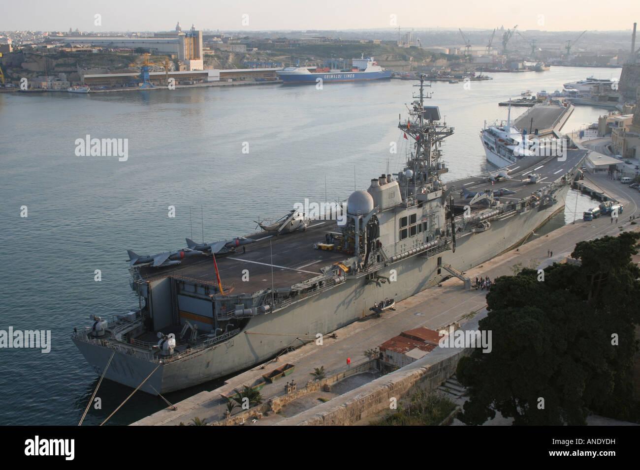 The Spanish Navy aircraft carrier Principe de Asturias in ... Spanish Aircraft Carrier News