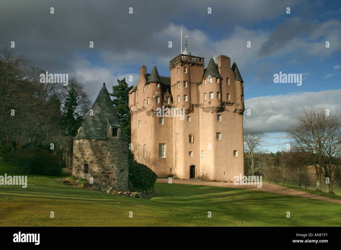 Craigievar Castle - Stock Image