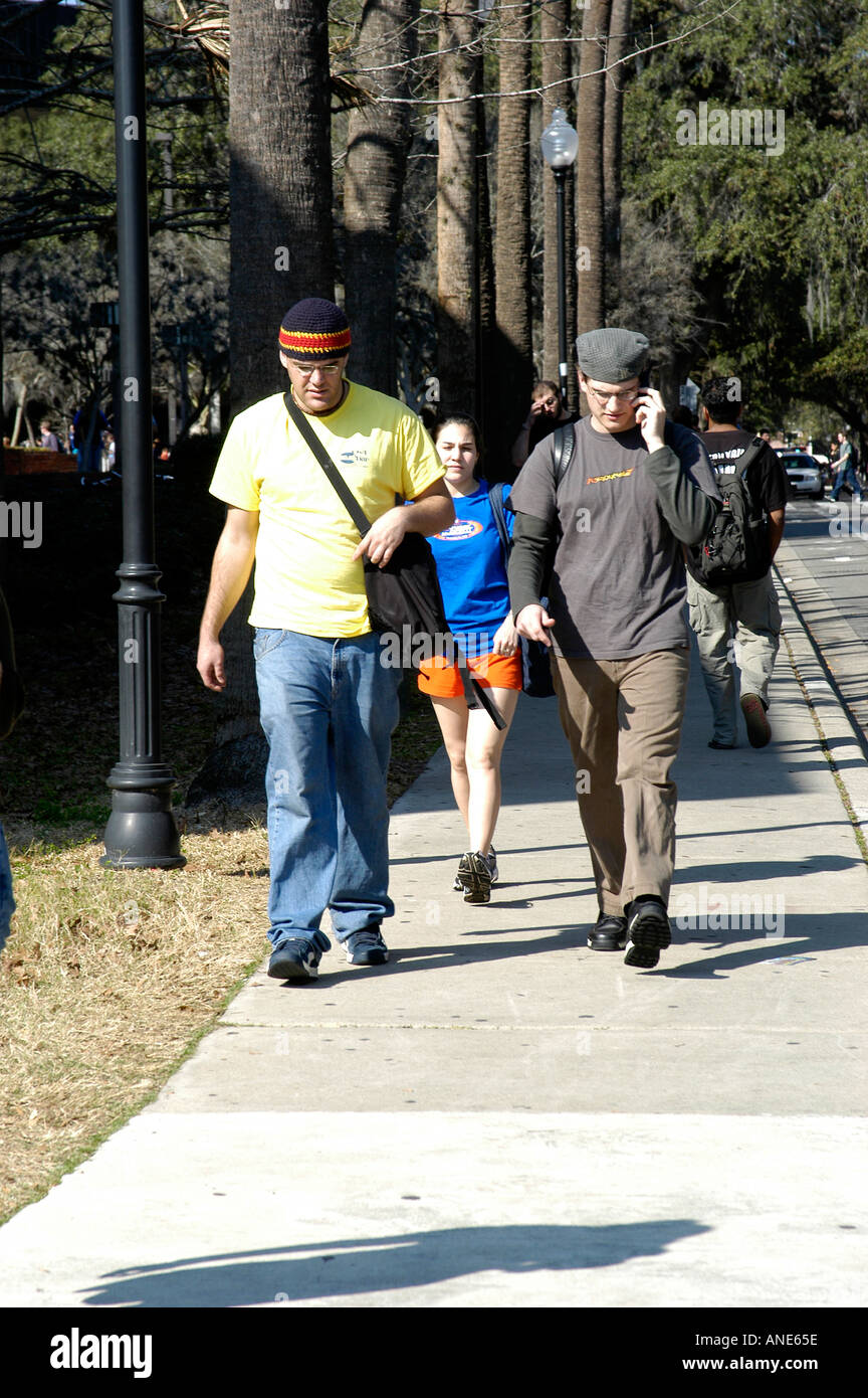 University of Florida FL Gainesville Campus Activity - Stock Image