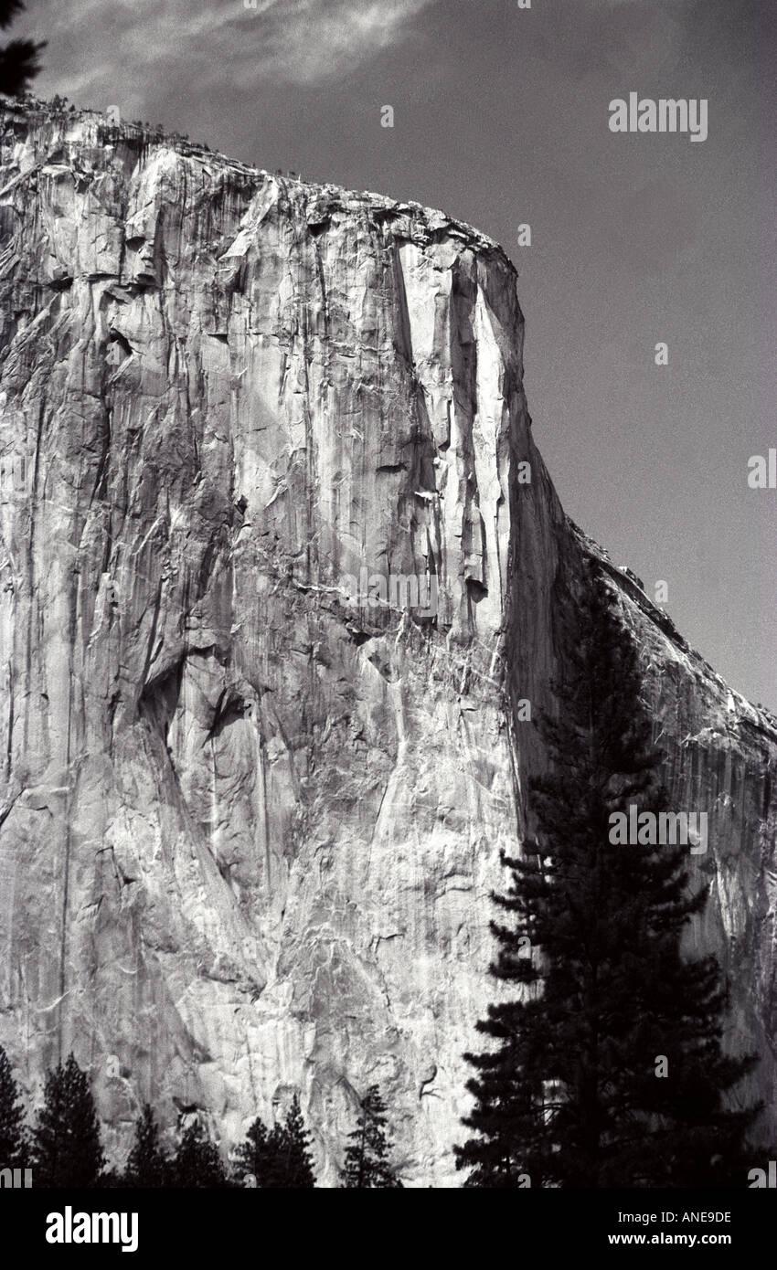 El Capitan Yosemite Stock Photo