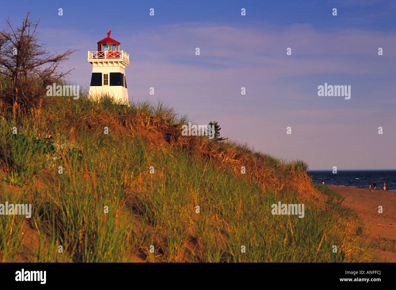 West Point Lighthouse, West Point, Prince Edward Island, Canada - Stock Image