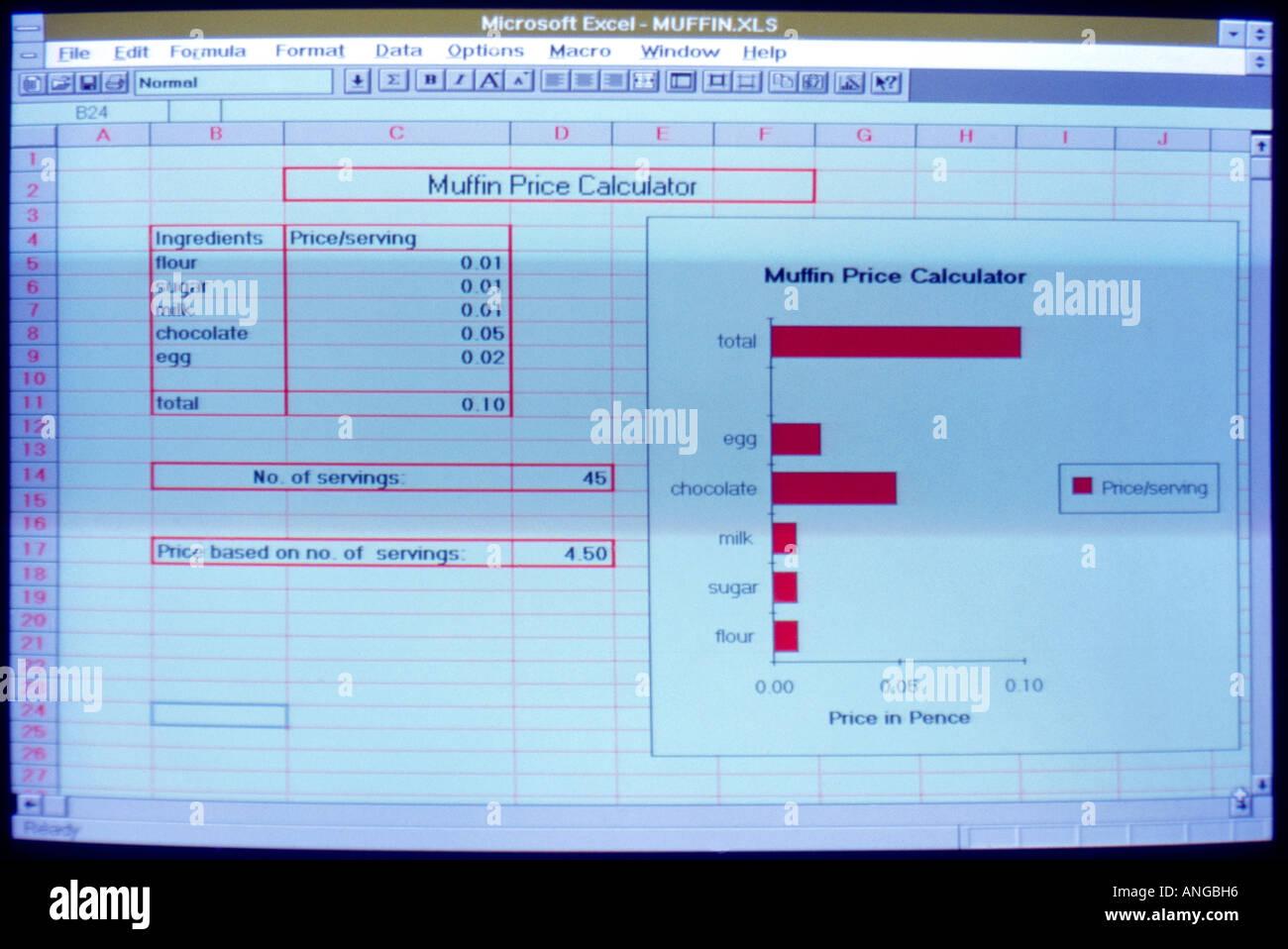 recipe spreadsheet - Ataum berglauf-verband com