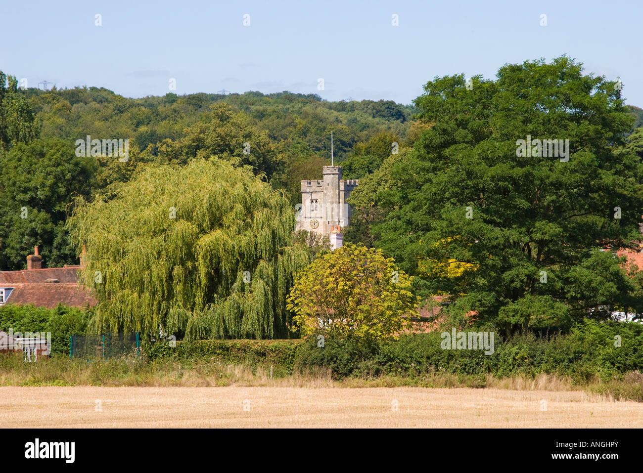 Little Missenden Village Buckinghamshire - Stock Image