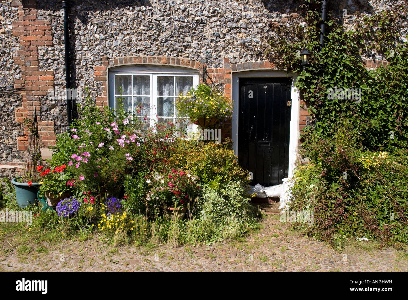 Cottage - Hambleden Village - Thames Valley - Buckinghamshire - Stock Image