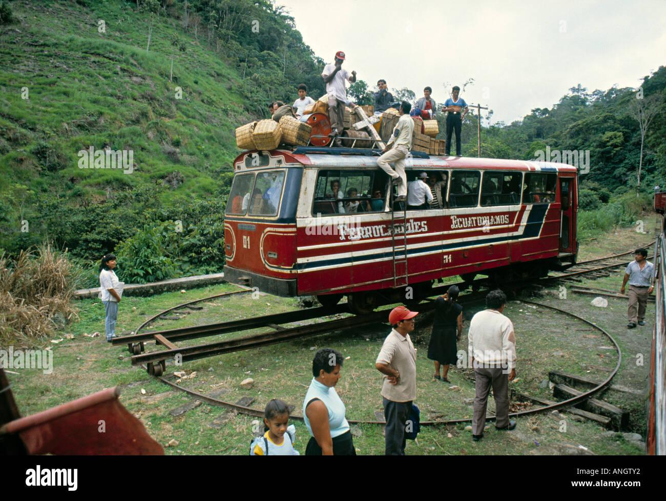 Train to San Lorenzo, Ibarra, Ecuador - Stock Image