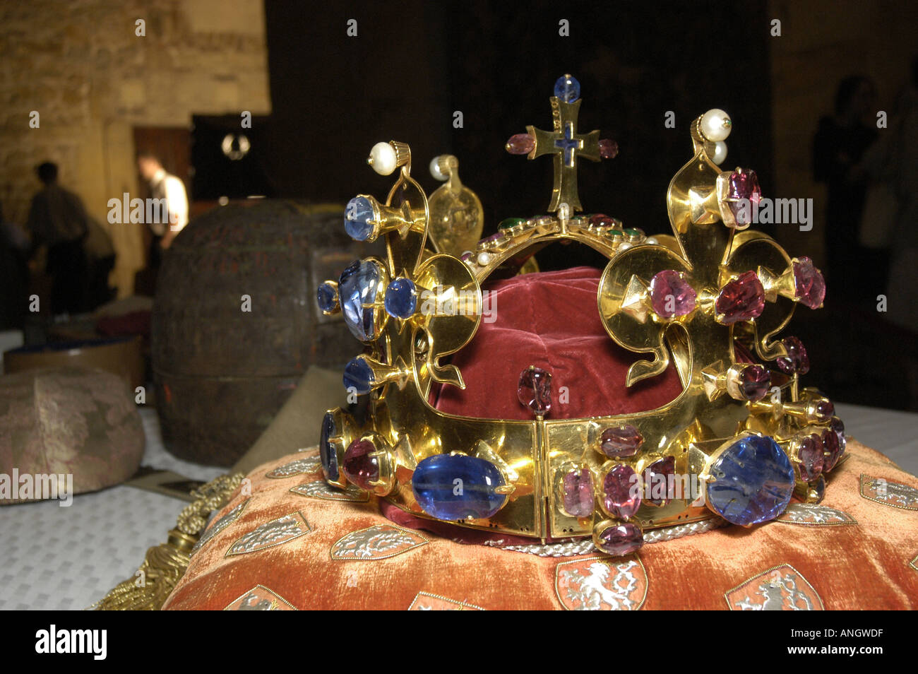 The Czech Crown Jewels Stock Photo