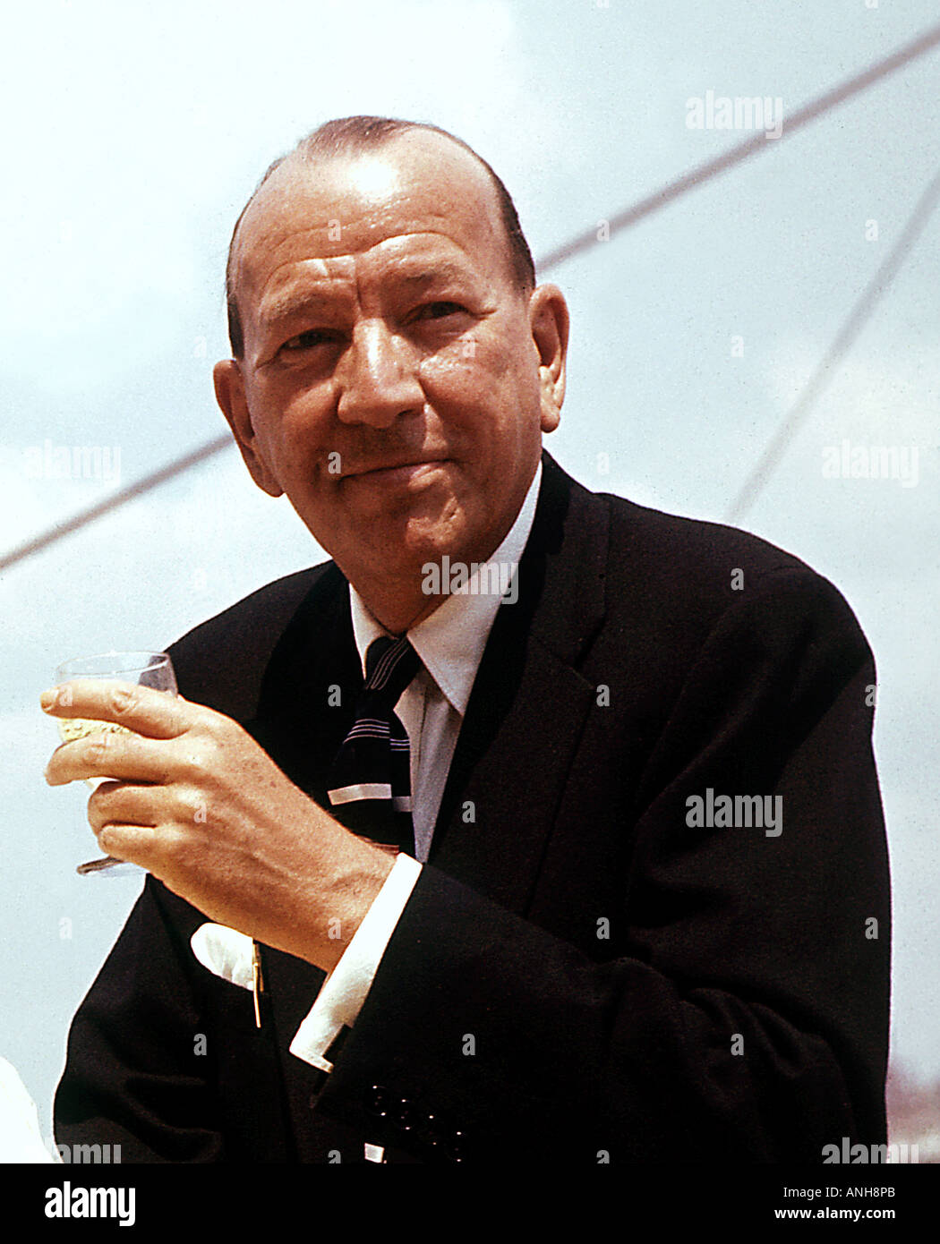 NOEL COWARD British actor playwright producer 1899 to 1973 - Stock Image