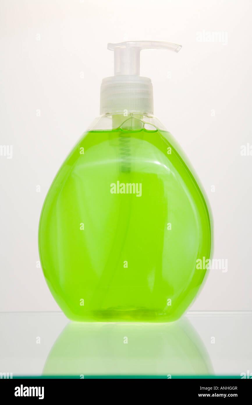 Liquid hand wash - Stock Image