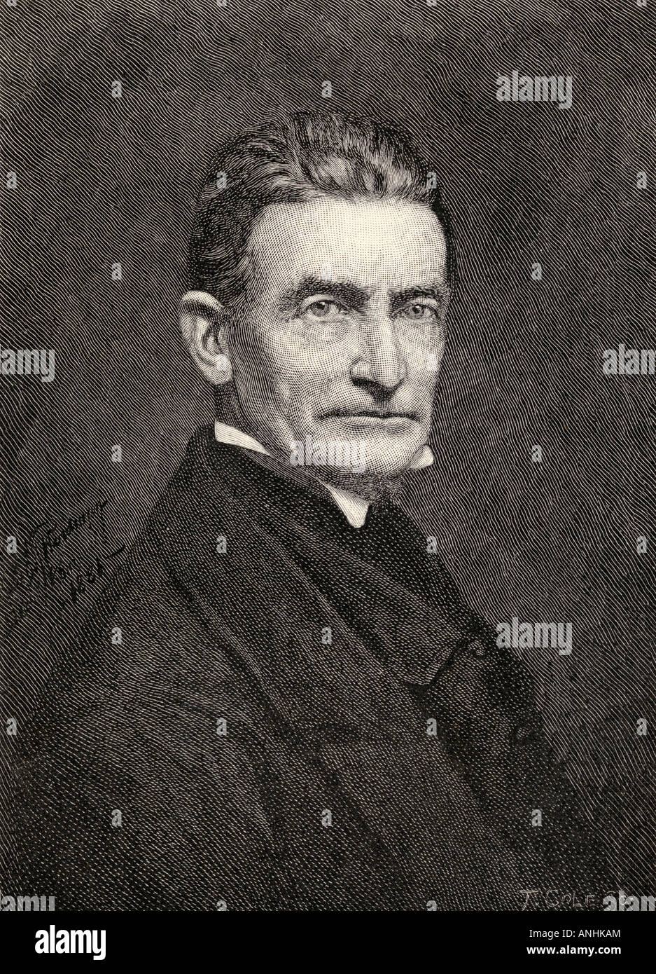 John Brown 1800 1859 White American abolitionist From the book The Century Illustrated Monthly Magazine May to October - Stock Image