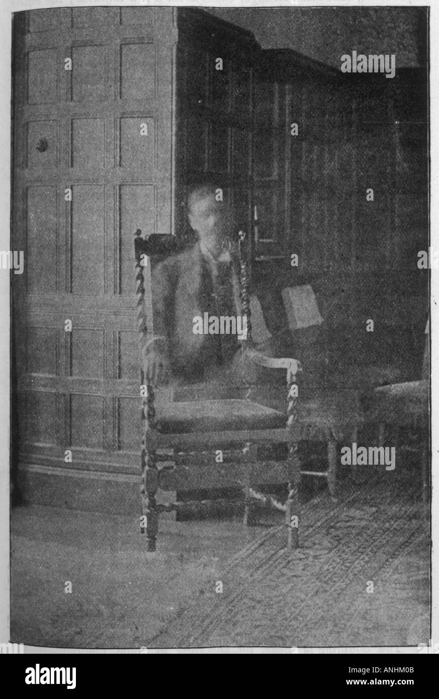 Paranormal Photography - Stock Image