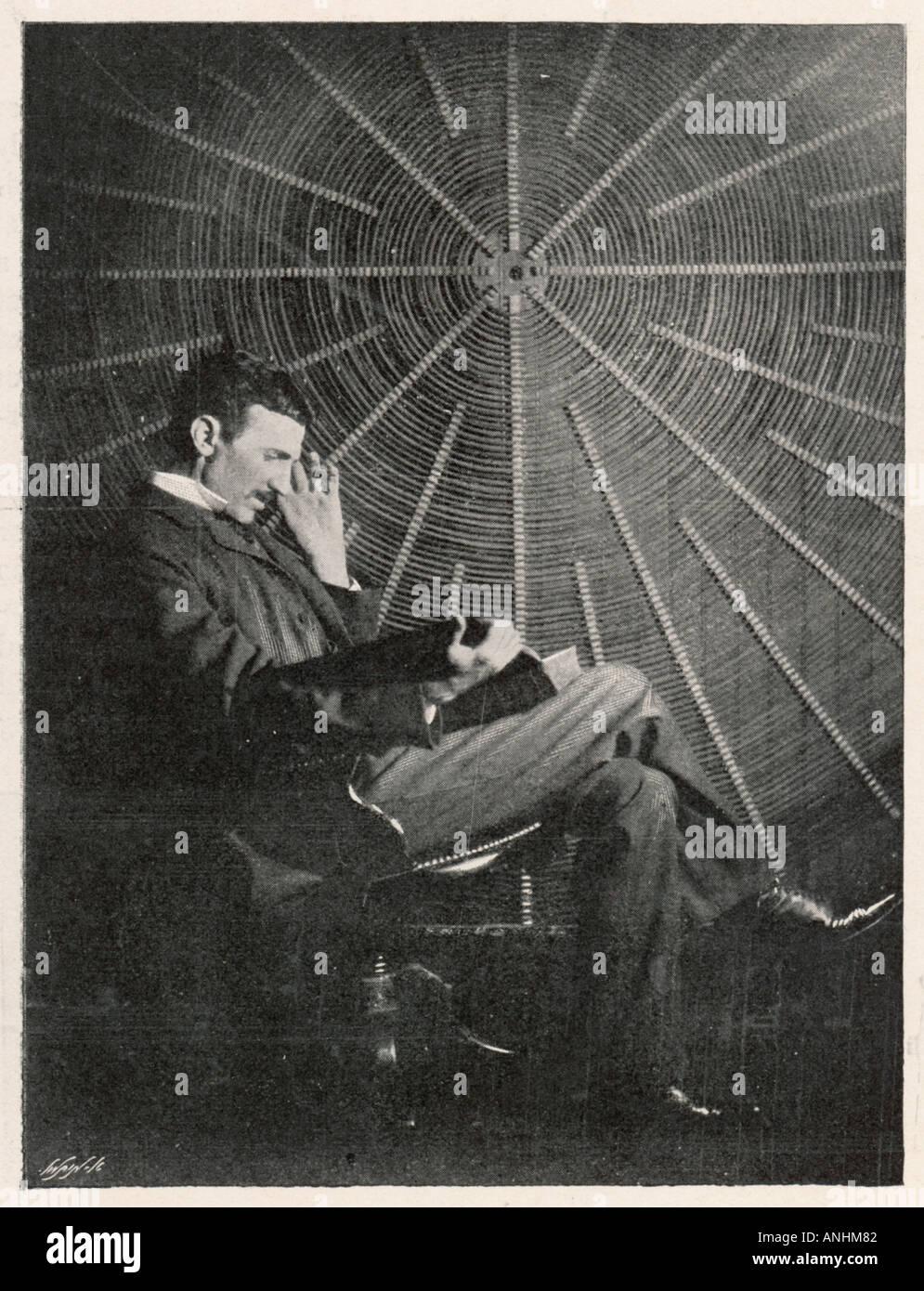 Nikola Tesla Pearson 99 - Stock Image