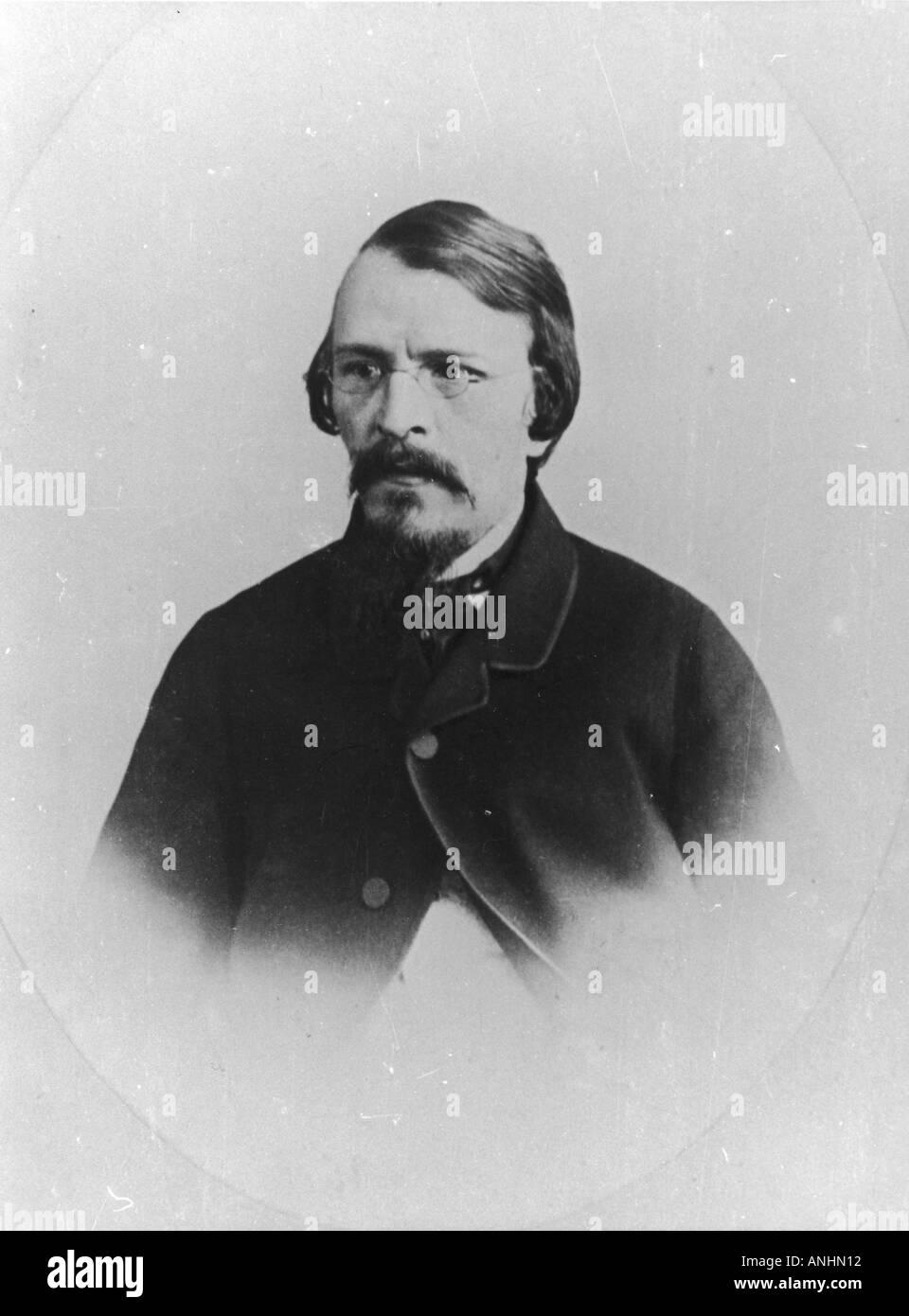Dostoievsky 1821 1881 - Stock Image