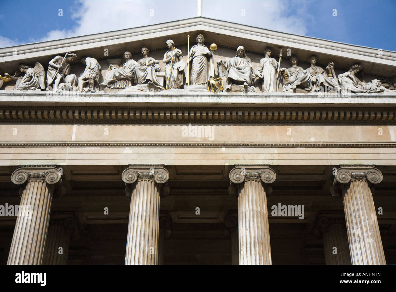 facade of the british museum stock photo 15533684 alamy