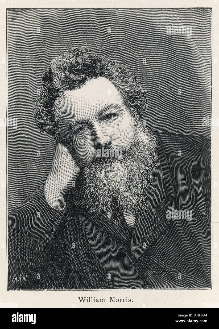 Morris 1834 1896 - Stock Image