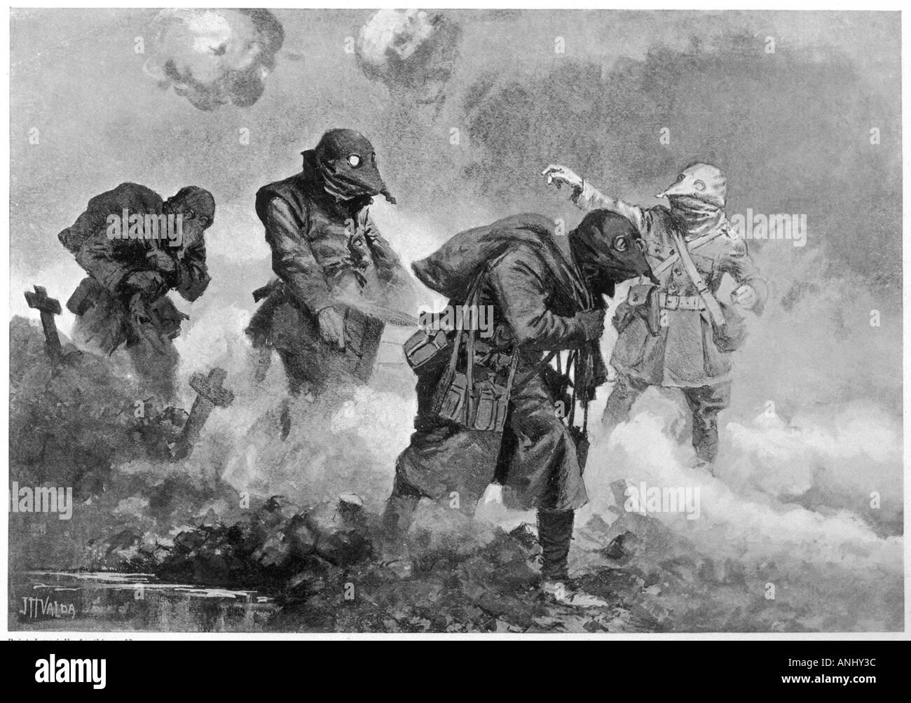 Ww1 1917 Gas Attack Stock Photos & Ww1 1917 Gas Attack ...