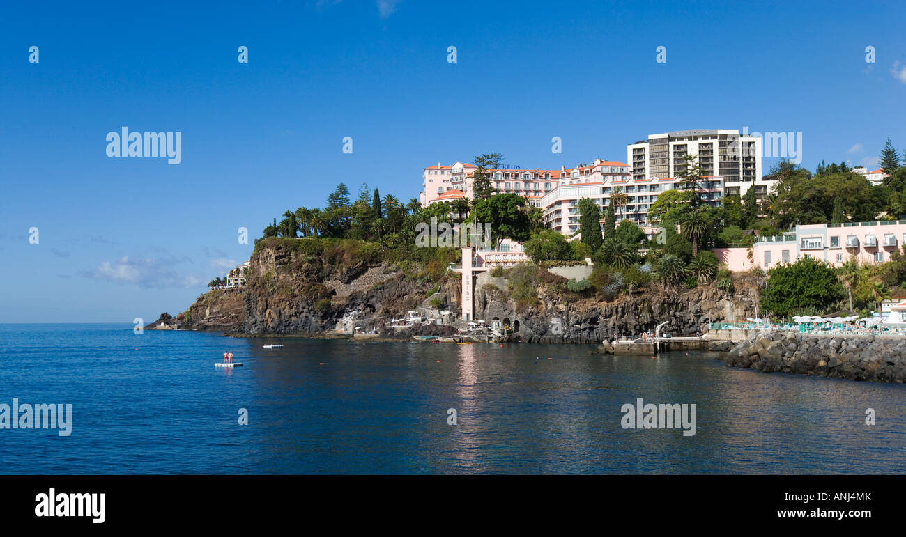 Reids Palace Hotel, Funchal, Madeira, Portugal - Stock Image