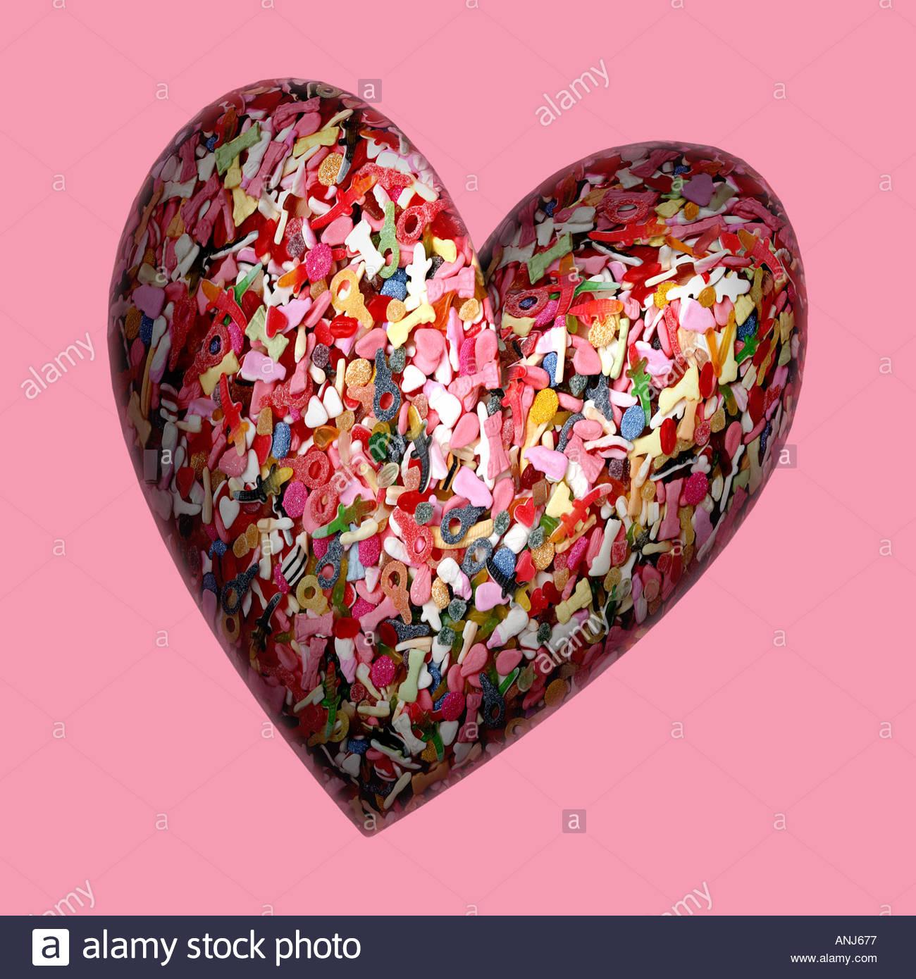 Valentine sweetheart - Stock Image