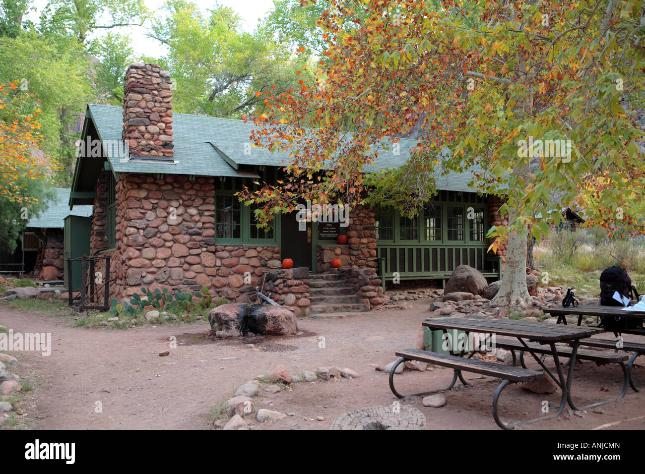 Phantom ranch cantina at the bottom of grand canyon in for Grand ranch