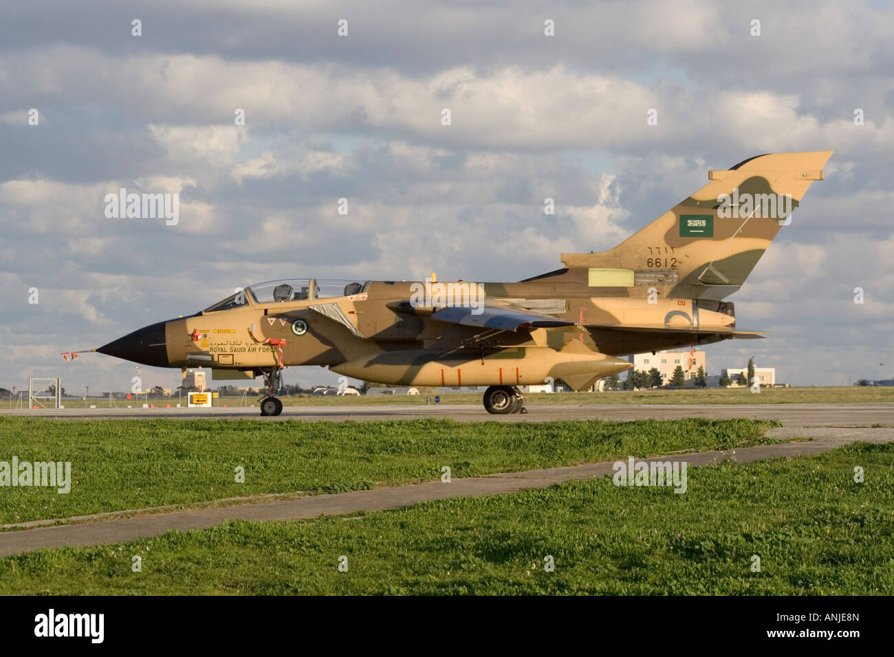 Royal Saudi Air Force Panavia Tornado IDS - Stock Image