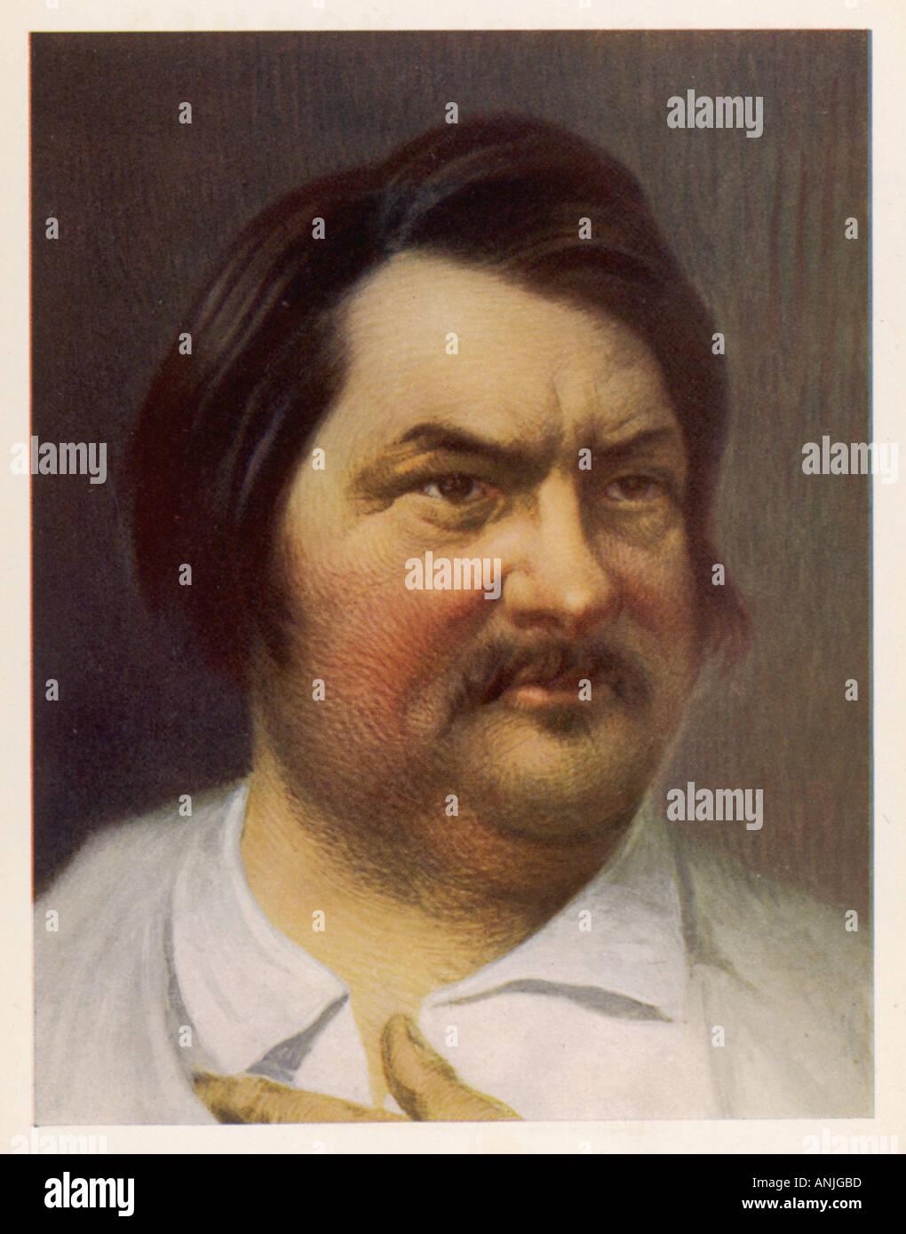 Honore De Balzac Stock Photo 5073084 Alamy
