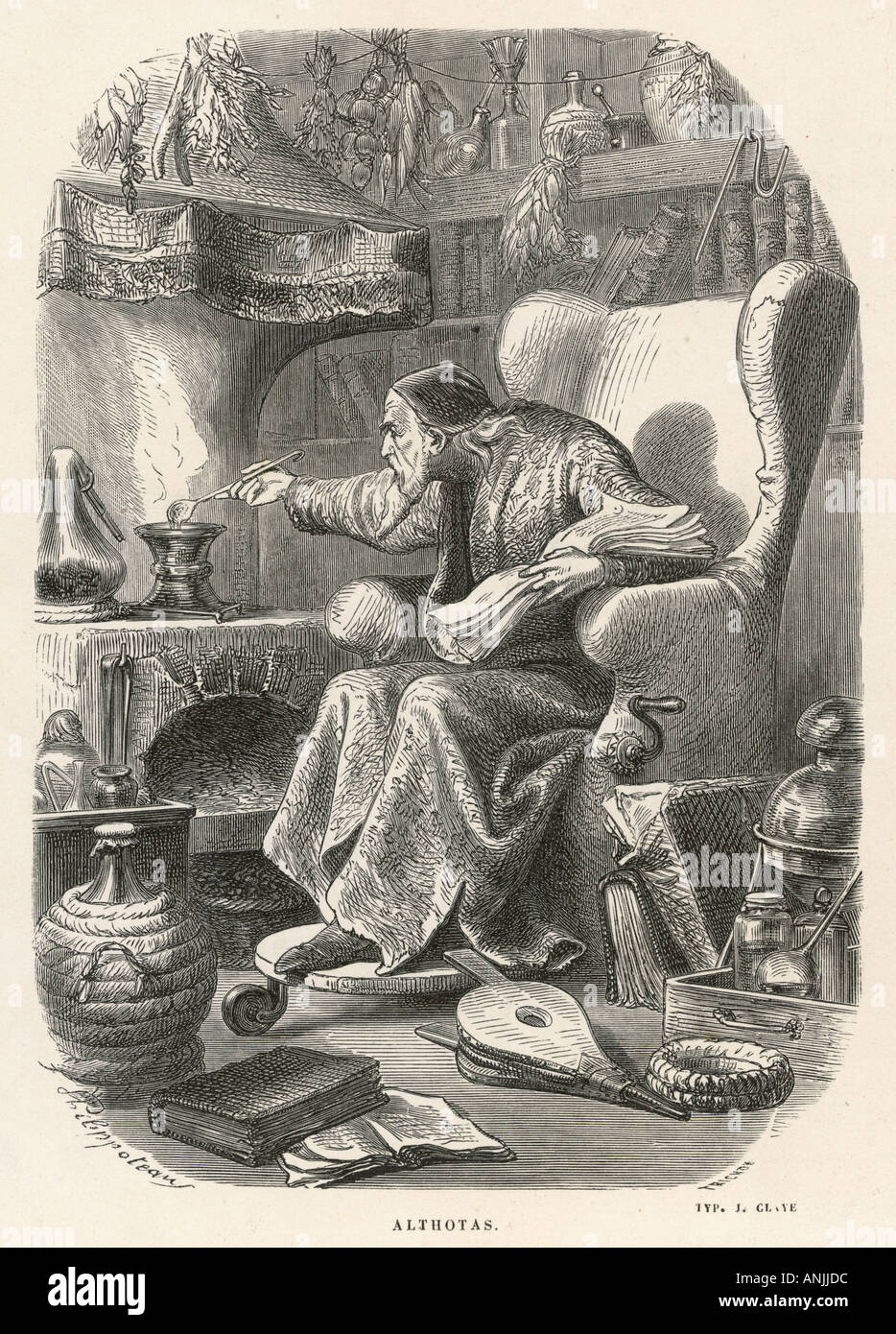 Paranormal Alchemy - Stock Image