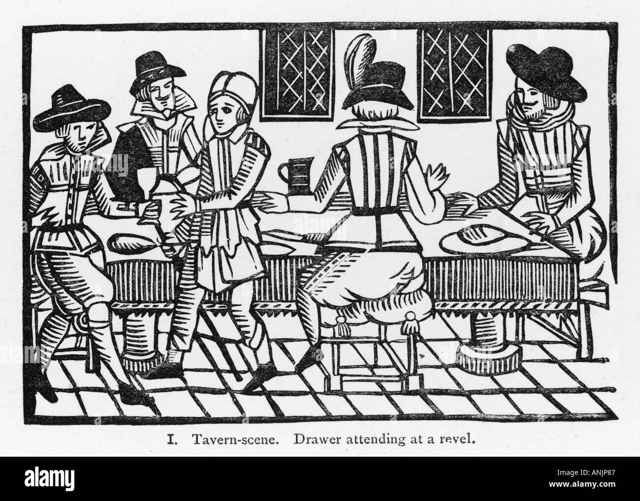 Elizabethan Tavern - Stock Image
