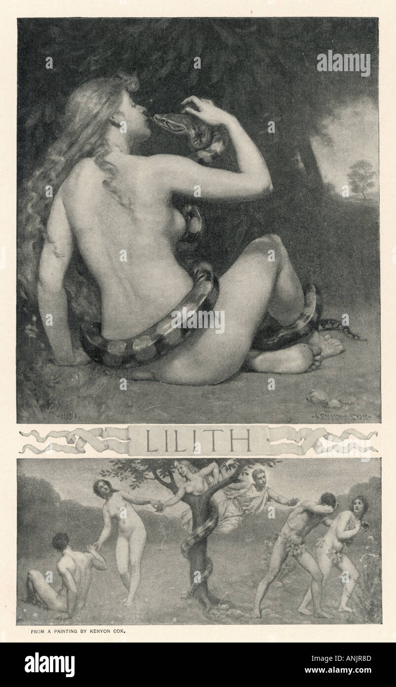 Classical Myth Lilith - Stock Image