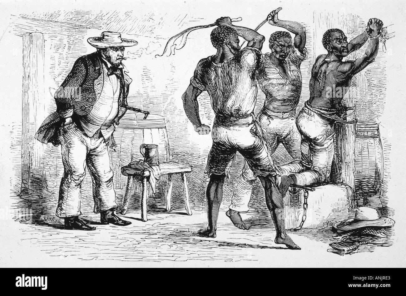 SM Latina demütigt zwei Sklaven