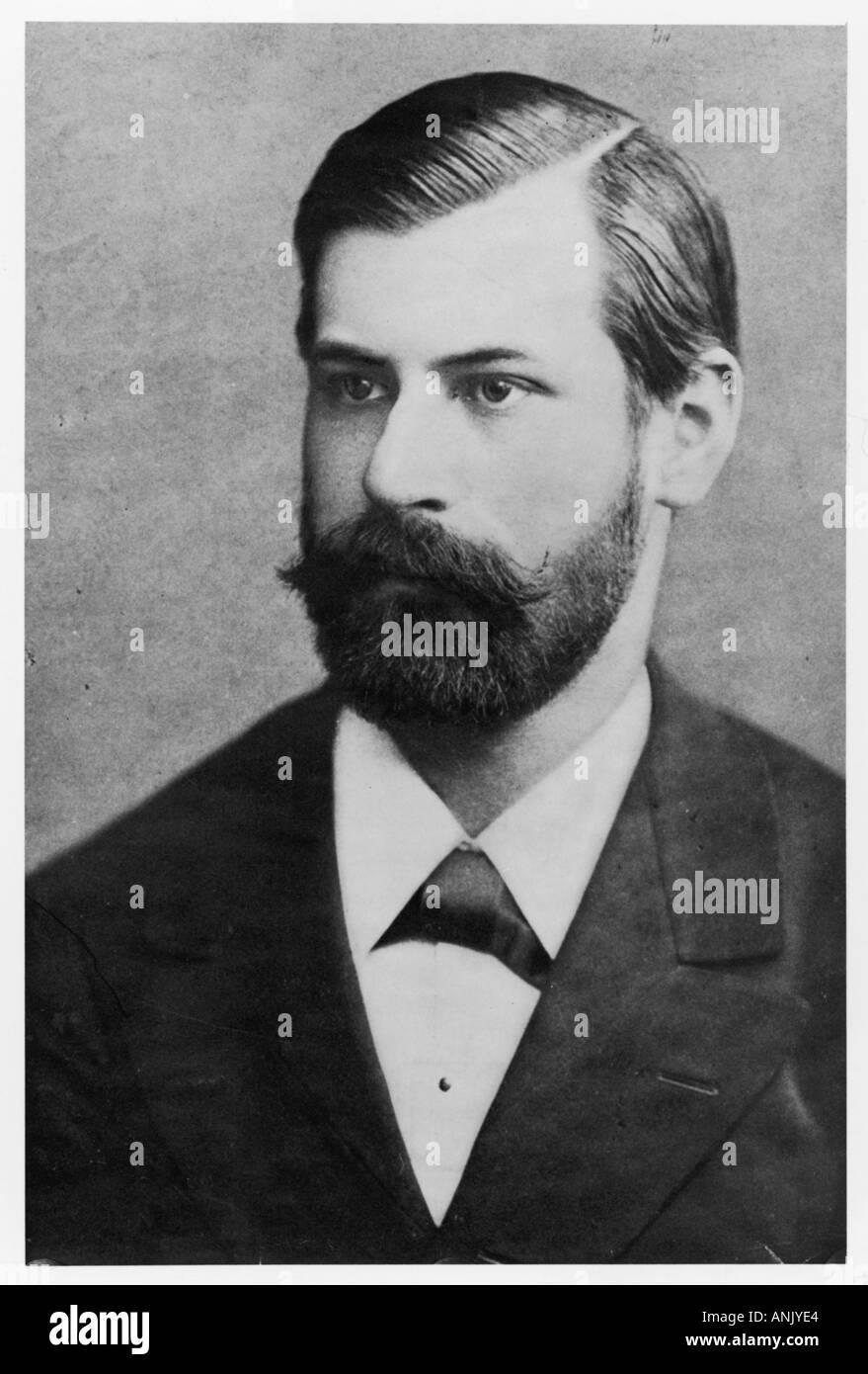 Sigmund Freud 1885 Neg1a - Stock Image