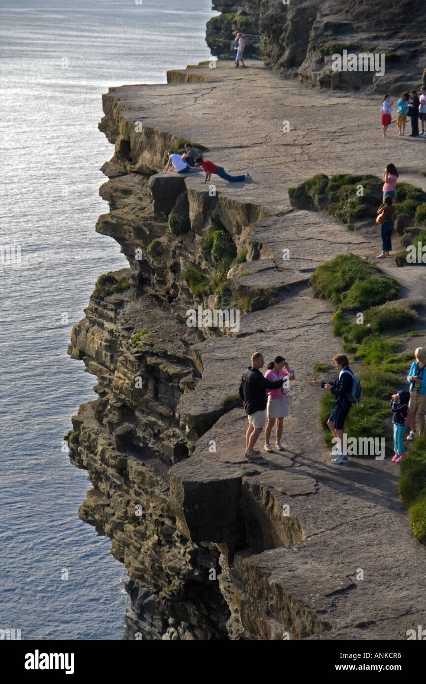 Cliffs Of Moher, Co Clare, Ireland - Stock Image