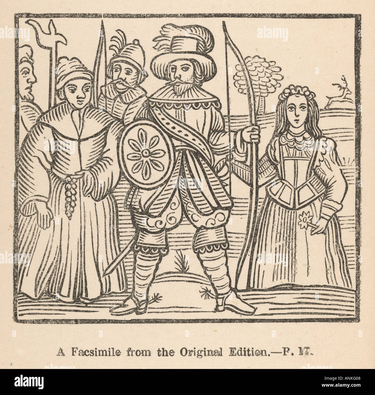 Myth Robin Hood - Stock Image