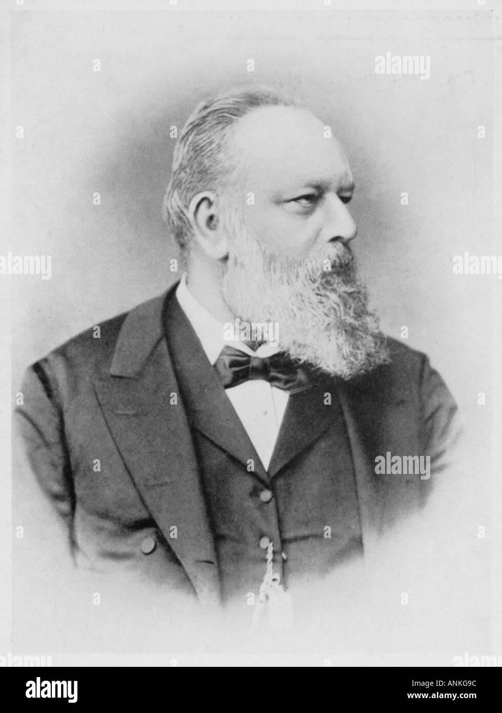 Theodor Billroth Maitres - Stock Image