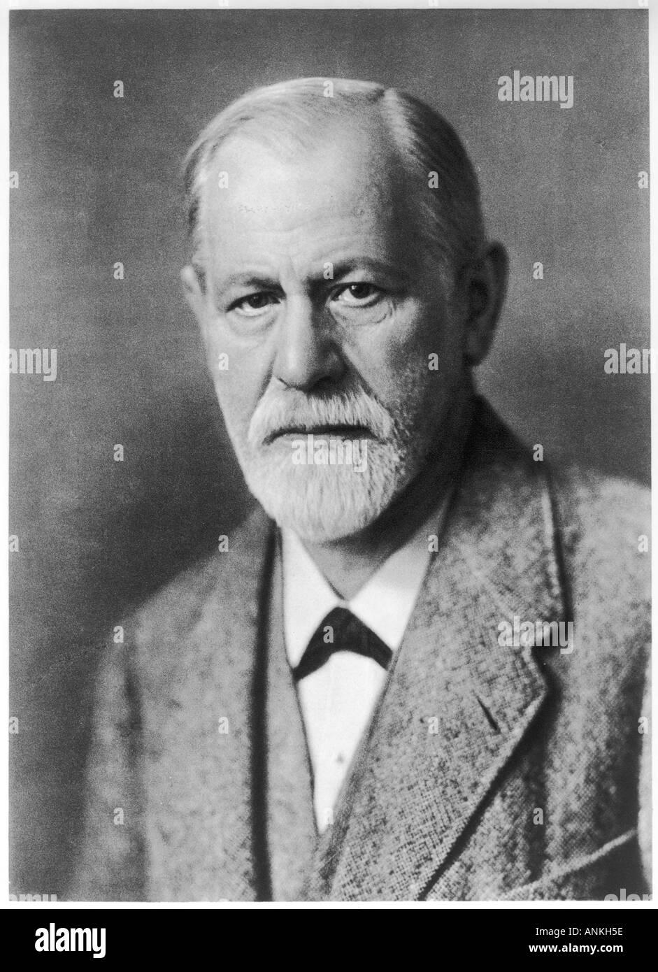 Sigmund Freud In 1922 14 - Stock Image
