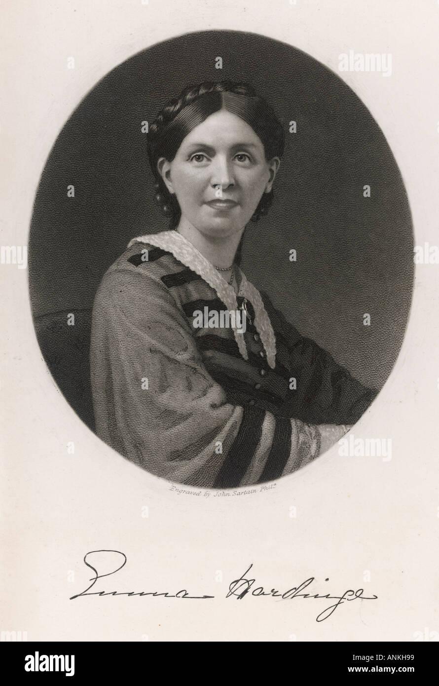 Emma Hardinge Britten - Stock Image