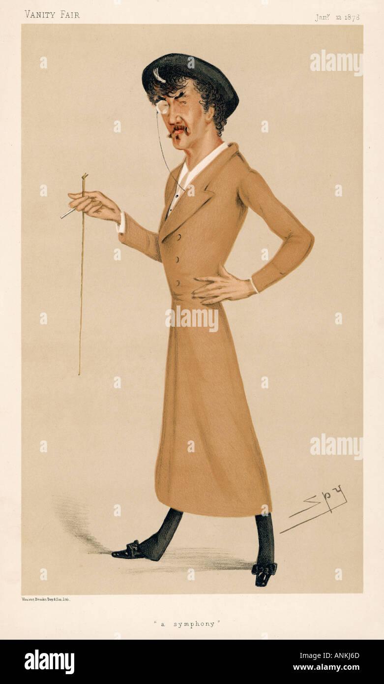 James Whistler V. Fair - Stock Image