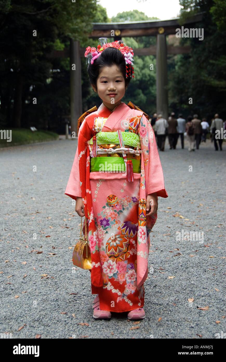 Japanese girls in japan
