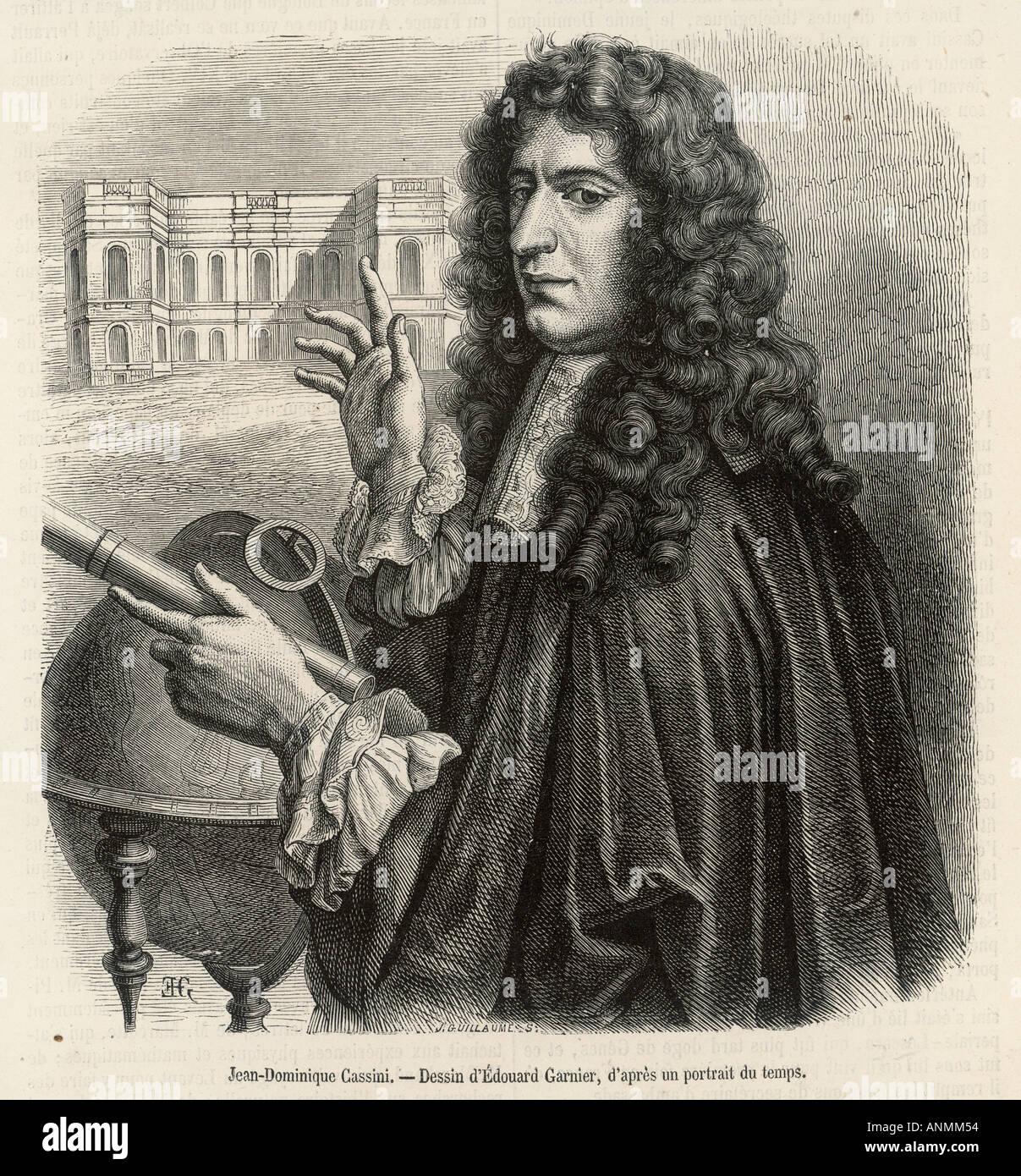 Giovanni Cassini Stock Photo: ...