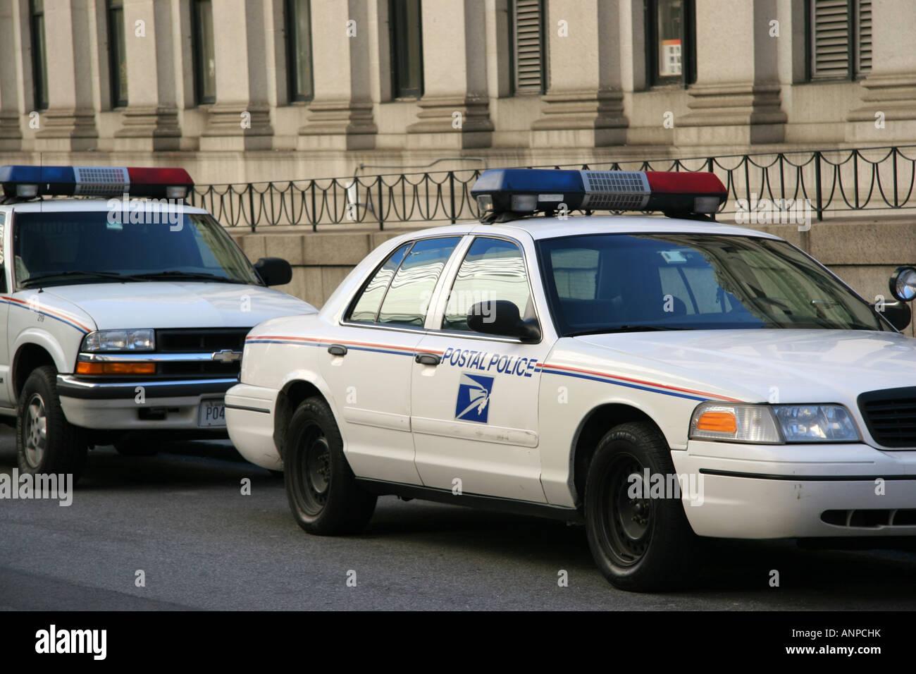 US Postal Police - Stock Image
