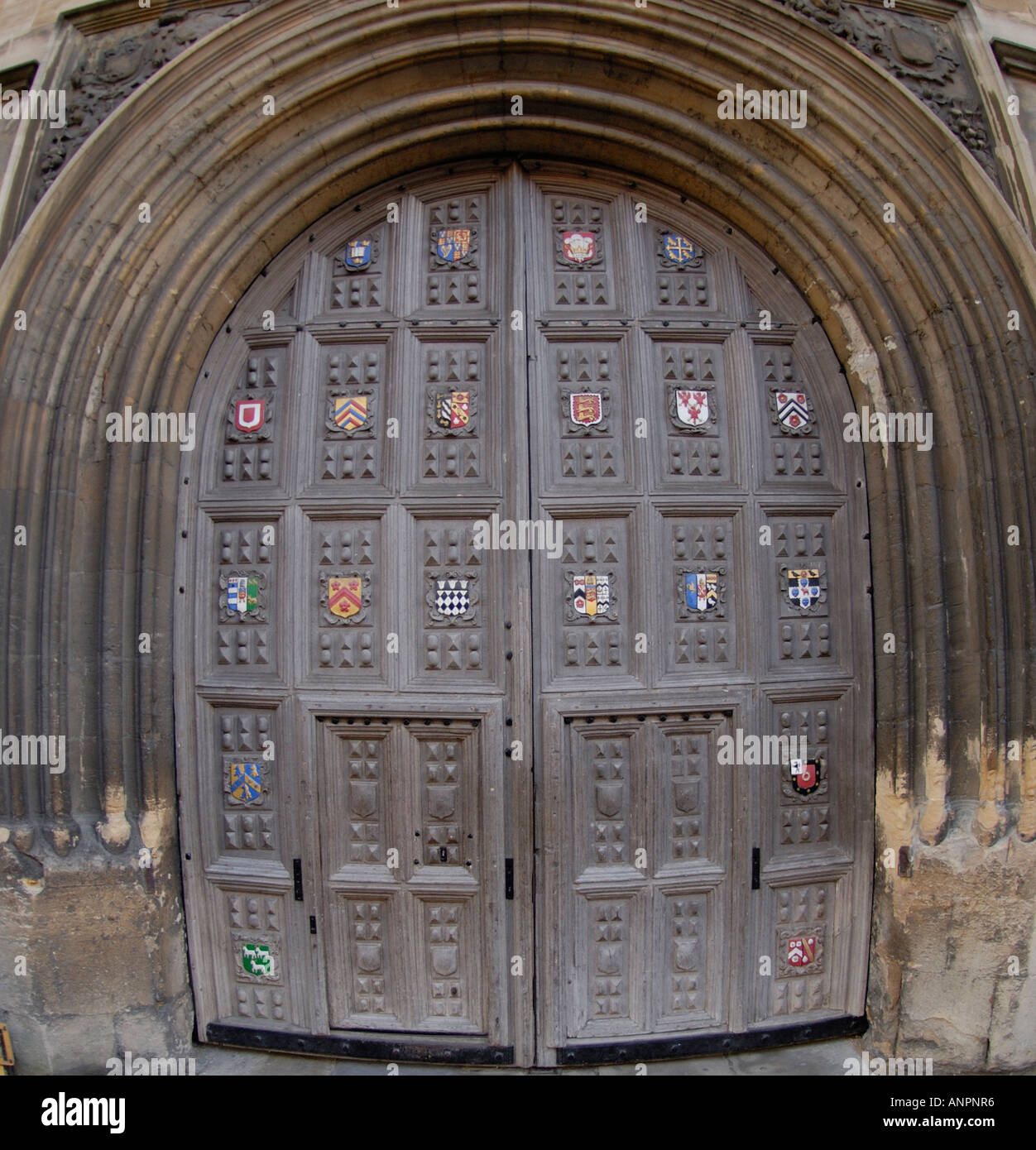 Door to Oxford University Bodleian Library & Door to Oxford University Bodleian Library Stock Photo: 8903221 - Alamy