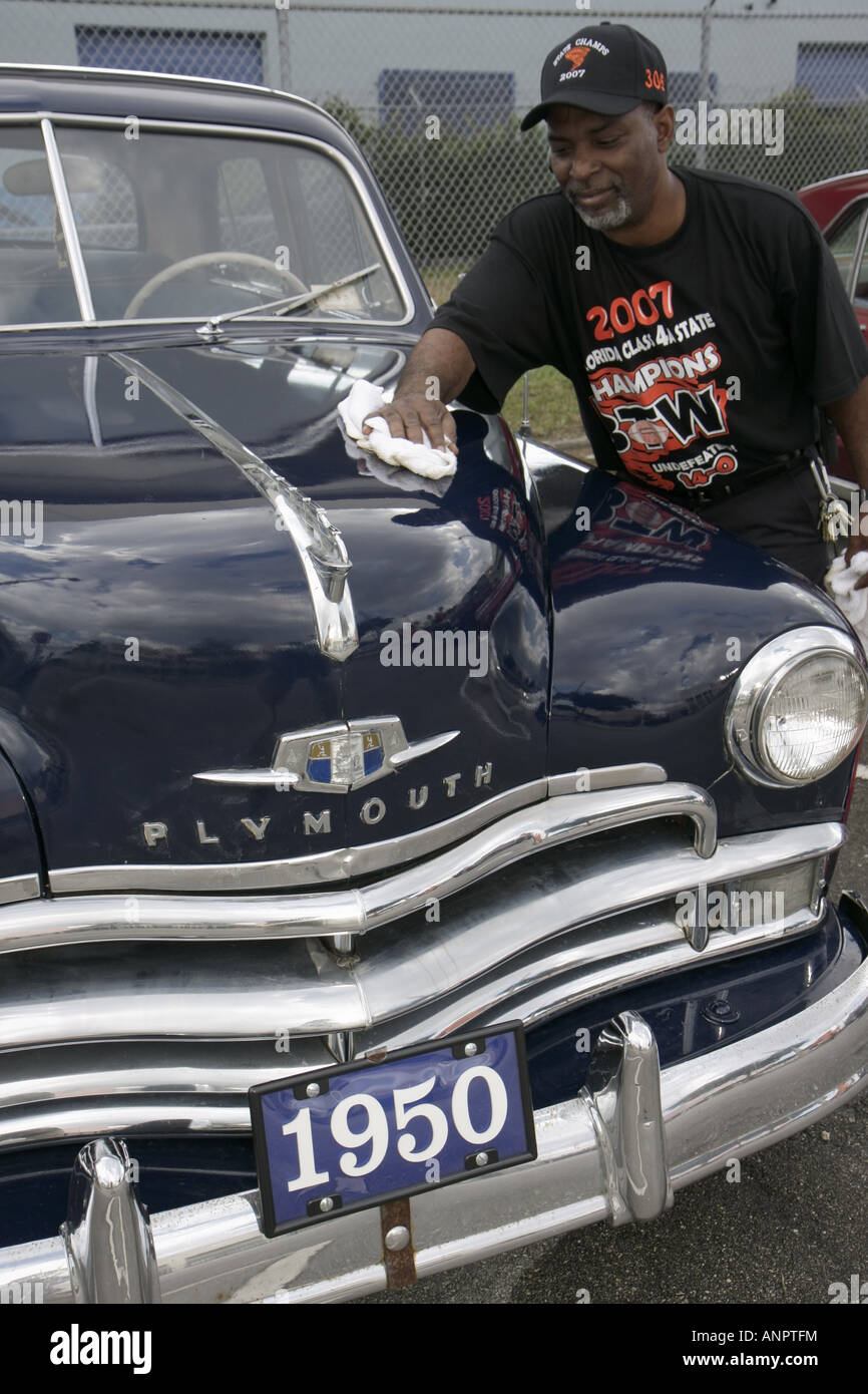 Black Man Car Driving Grill