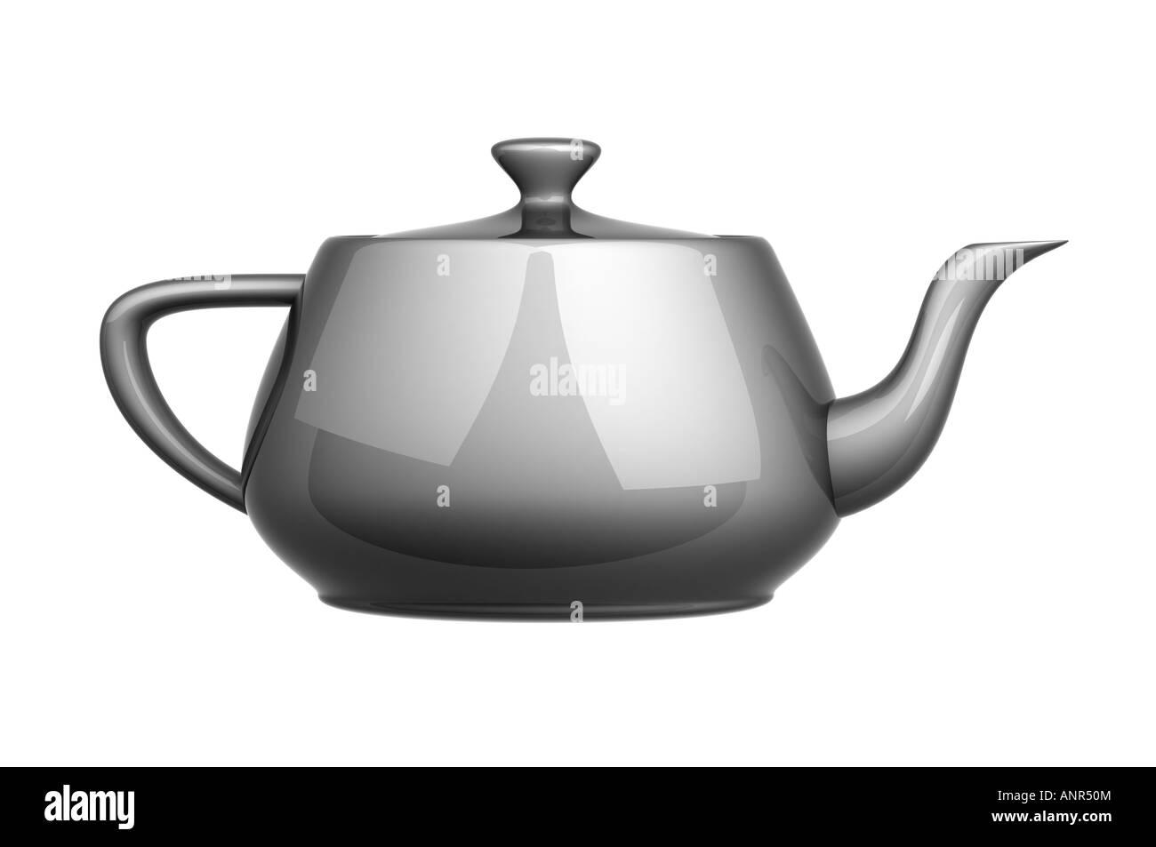 Tea pot kettle - Stock Image